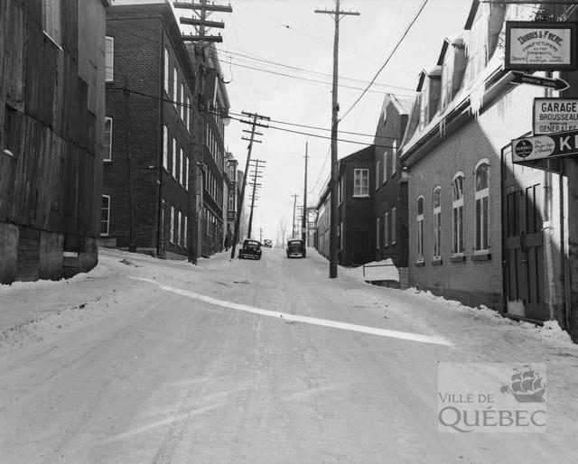 Rue Saint-Gabriel en 1948